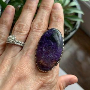 Jewelry - Native American Charoite Stone Ring